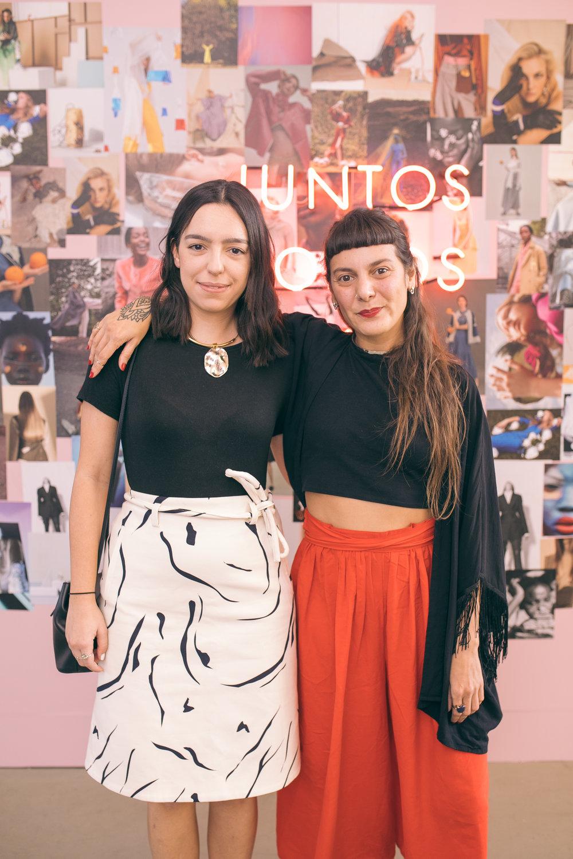 Gabriela Splendore e Mariana Lourenço