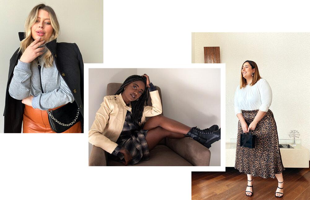 Looks das influencers AMARO com roupas femininas maravilhosas para te inspirar