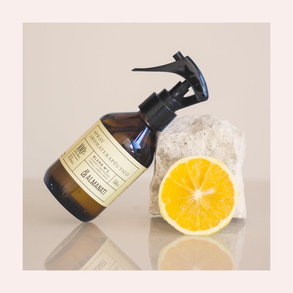 PRODUTO:  Almanati spray aromaterapêutico - blend nº2.