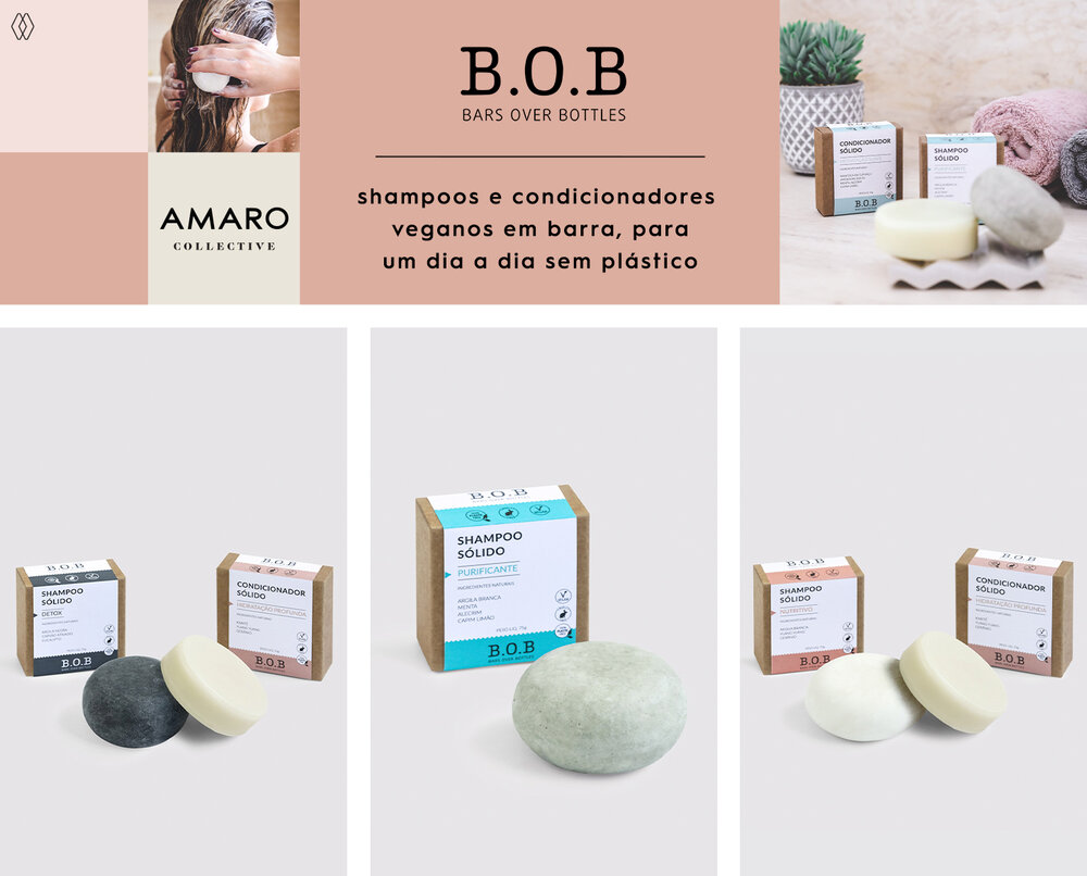 PRODUTOS:  Bob kit shampoo em barra detox condicionador em barra hidratação profunda,   Bob shampoo em barra ,  Bob kit shampoo em barra nutritivo condicionador em barra hidratação profunda.