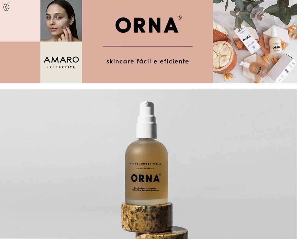 PRODUTO:  Orna fórmula fel de limpeza facial 60 ml.