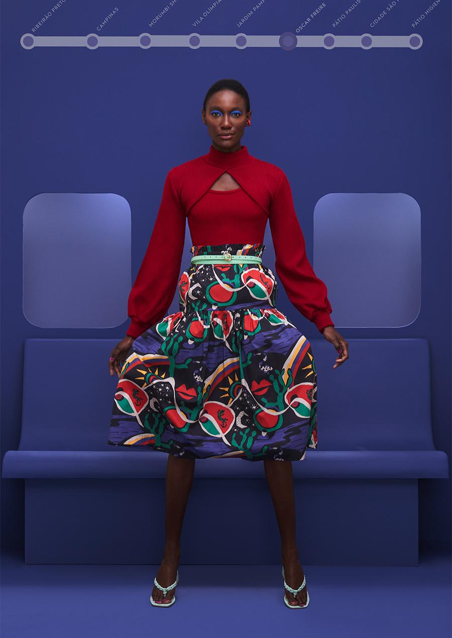 conjunto tricot coleção joyful primavera