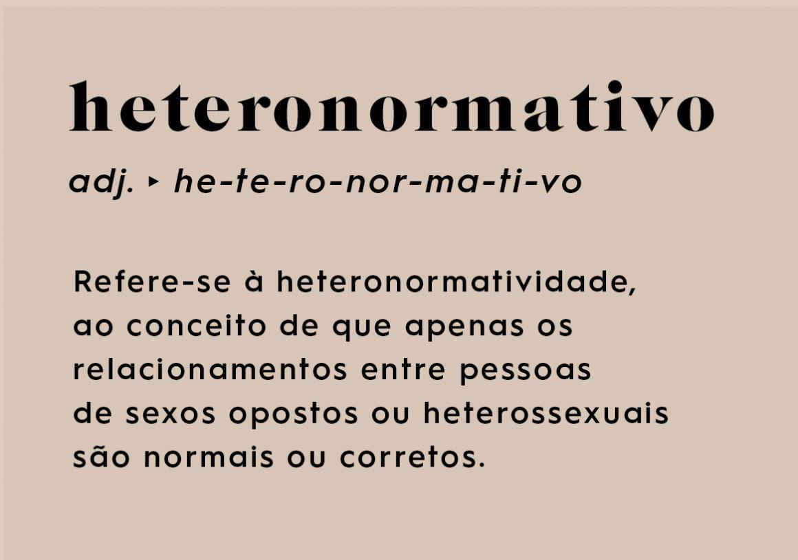 Significado heteronormatividade