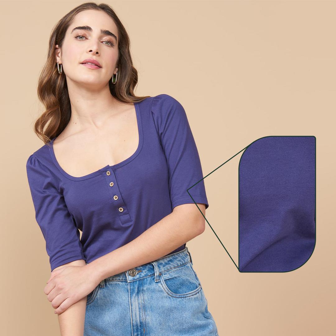 Blusa algodão sustentável AMARO