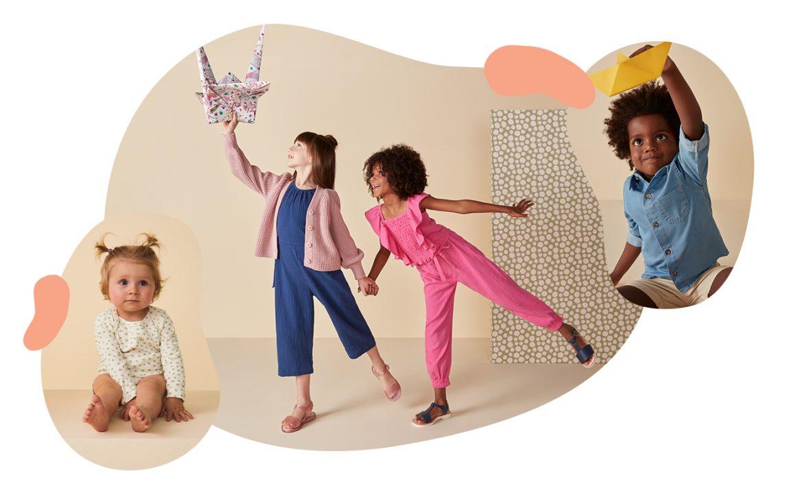 Crianças e moda infantil