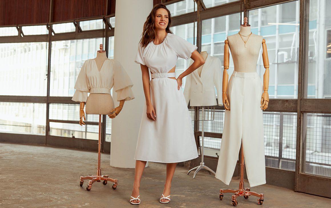 Vestido Branco Cut Out