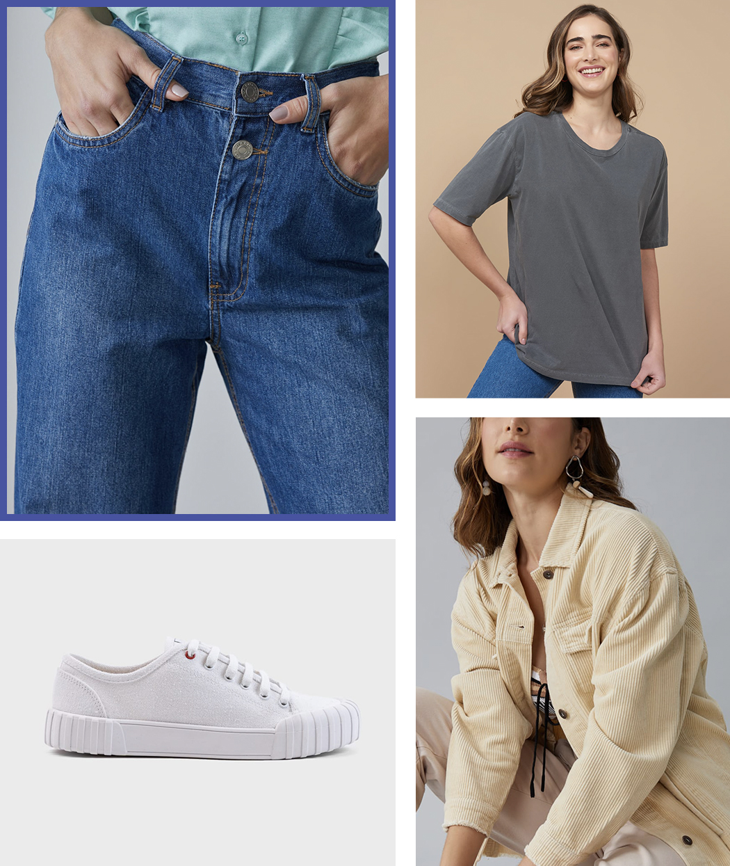 Look skatista feminino com calça jeans